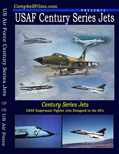 USAF Films Century Series Jets F-100 F-101 F-104 F-105 F-106 Air Force 1950's old Films DVD ()
