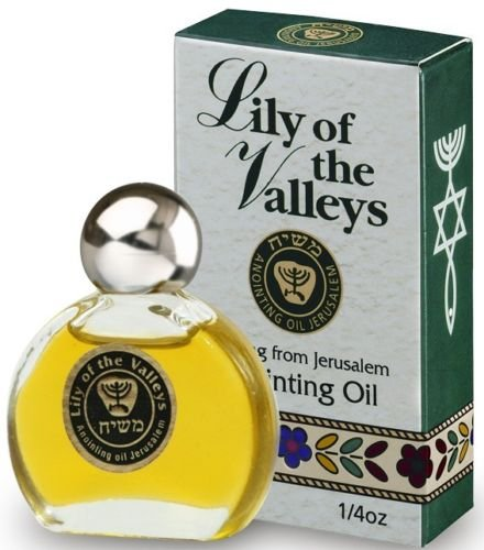 Lily of the Valleys - Anointing Oil 7.5 ml. Bible gift from Jerusalem by Bethlehem Gifts TM (Lily Of The Valley Essential Oil Fragrance)