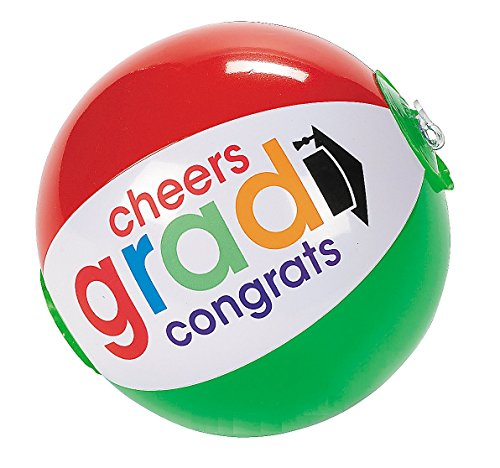 Cheers Grad Beach Balls Pack