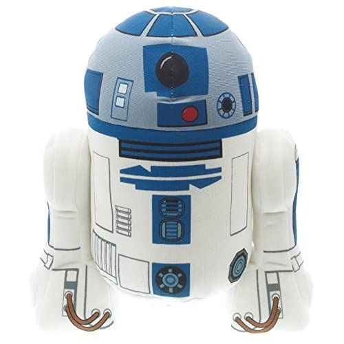 "Underground Toys Star Wars 9"" Talking Plush - R2-D2"