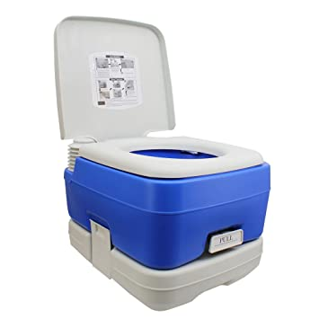 10L Portable Toilet for Camping and Outdoors: Amazon.co.uk: Garden ...