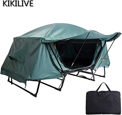 zelt camping bett