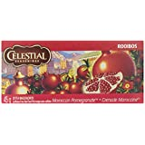 Celestial Seasonings African Tea Moroccan Pomegranate Red, 20-count (Pack of 6)