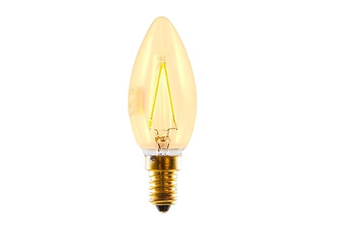 Silver Electronics Edison Bombillas, 2200 K E14, 3 W