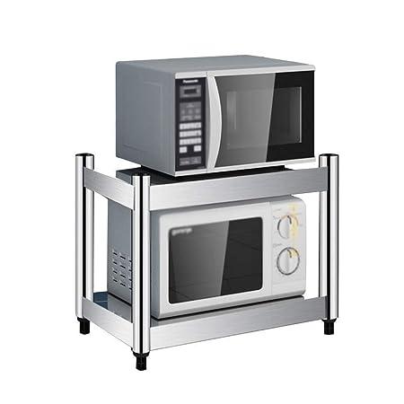 RMJAI Estantería de Cocina Nivel 2 del Horno Microondas del ...