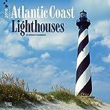 Atlantic Coast Lighthouses 2016 Square 12x12 Wall Calendar