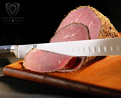 DALSTRONG Slicing Carving Knife - 12'' Granton Edge - Gladiator Series - German HC Steel - w/ Sheath by Dalstrong (Image #2)
