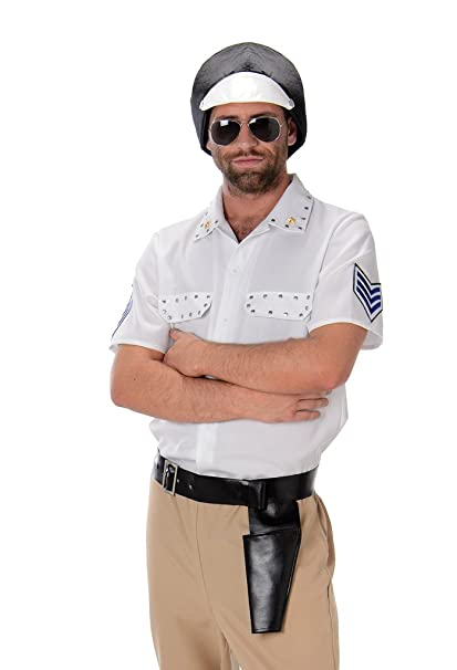 Disfraz motorista policía hombre: Amazon.es: Juguetes y juegos