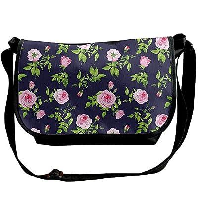 159c4d6a8b Lovebbag Vintage Roses And Buds Romantic Feminine Floral Pattern Old  Fashioned Decorative Crossbody Messenger Bag durable