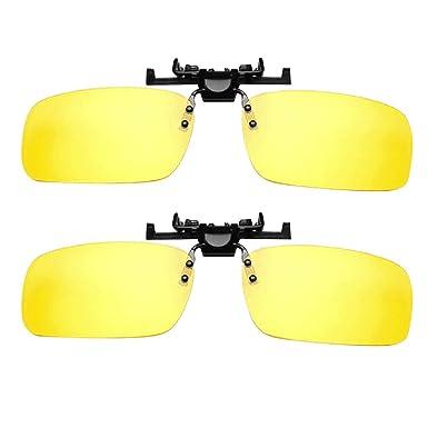 RISTHY Clip en Gafas, Gafas de Sol y Safas de Visión ...