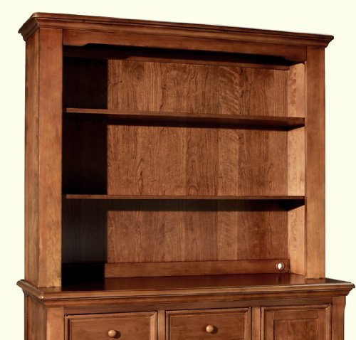 Westwood Design Jonesport Hutch with Touchlight, Tuscan Cherry Heirloom Vanity