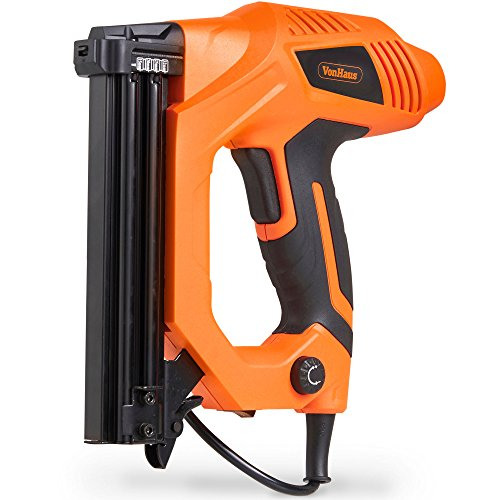 VonHaus 9A Electric Staple Gun & Nailer – Includes Staples & Nails...