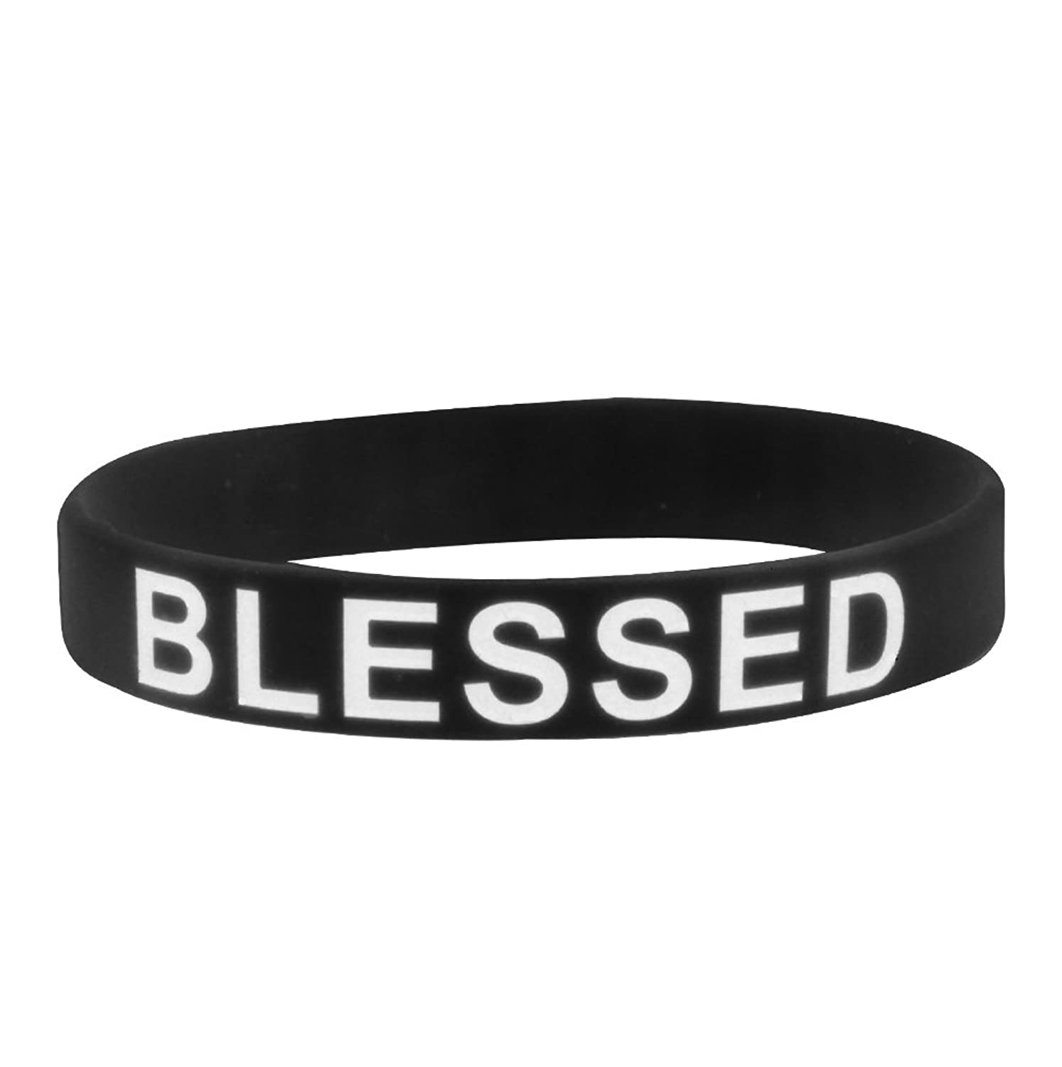 peace wrist products jesus pcs wristband bracelet band silicone assorted color know pack