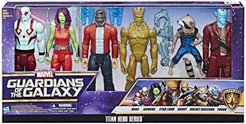 MarvelS Guardians of The Galaxy - Titan Hero Series 6pk Figures ...