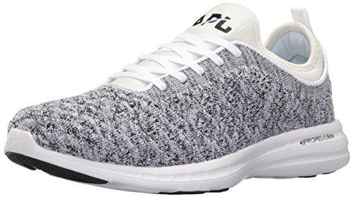 APL: Athletic Propulsion Labs Women's Techloom Phantom Running Shoe, White/Cosmic Grey, 6 M US