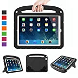 LTROP Kids Case for iPad Mini 1 2 3 4 5 - Light Weight Shock Proof Handle Friendly Convertible Stand Kids Case for iPad Mini - Mini 5 (2019) - Mini 4 - iPad Mini 3rd Generation - Mini 2 Tablet - Black