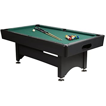 Gamesson - Mesa de Billar, Color Verde, Talla 6 Feet: Amazon.es ...