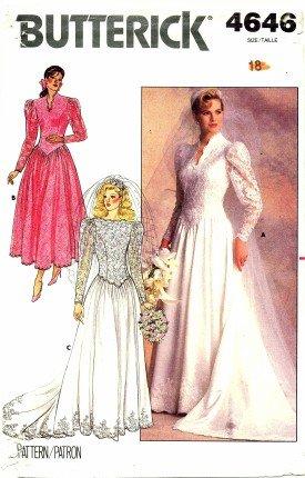 80s bridesmaid dress pattern - 3