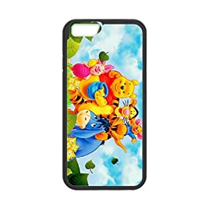 iPhone 6 Plus 5.5 Inch Cell Phone Case Black Disney Winnie the Pooh and the Honey Tree Character Winnie the Pooh 006 VA2477820