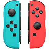 Joy-Con Controller Replacement for Nintendo Switch,Left and Right Controllers with Straps Support Wake-up Function (Blue…