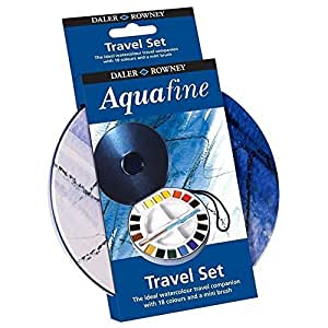 Daler Rowney Watercolour Aquafine Travel Tin