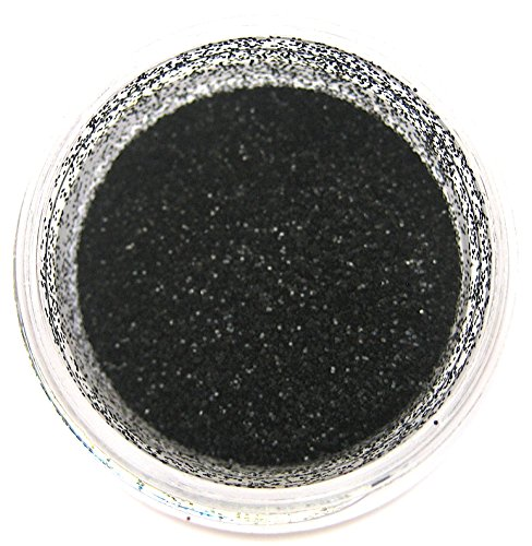 True Black Disco Glitter Dust, 5 gram container