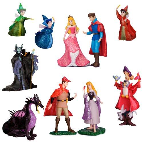 Sleeping Beauty 10-Piece Deluxe Figurine Set (V6025G0001)
