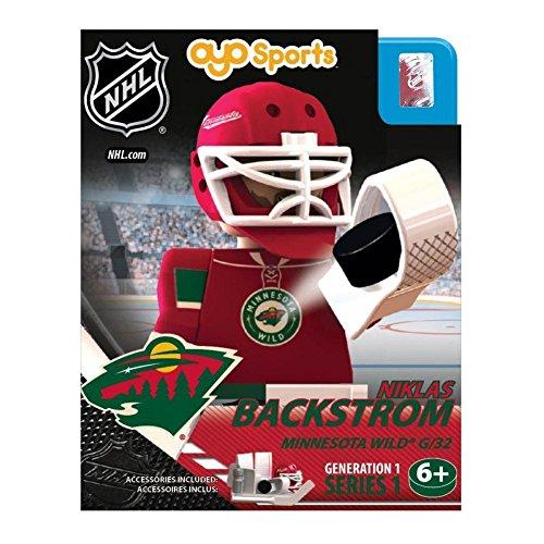 NHL Minnesota Wild Niklas Backstrom Generation 1 OYO