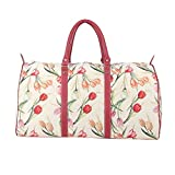 Tulip Floral Ladies Women's Tapestry Carry-on Overnight Weekender Duffel Travel Bag Signare (BHOLD-TULWT) Review