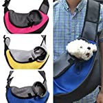 M Pet Dog Cat Carrier Mesh Sling Backpack Travel Tote Shoulder Bag