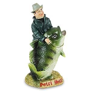 HC de Comercio 915531Hucha Pesca Petri Heil 18cm