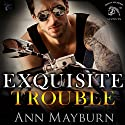 Exquisite Trouble : Iron Horse MC, Book 1 Audiobook by Ann Mayburn Narrated by Stephanie Wyles, Andy E. Ross