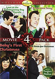 Hallmark Holiday Collection 4 (Christmas Song/Baby's First Christmas/Bride for Christmas/Thanksgiving Day Parade) (B00O1D3C66) | Amazon Products
