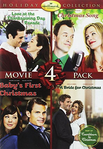Hallmark Holiday Collection 4 (Christmas Song/Baby's First Christmas/Bride for Christmas/Thanksgiving Day Parade) (Us Sister Day Christmas)