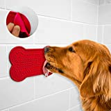 CRFX Dog Lick Pad for Easy and Funny Bath - Dog Peanut Butter Pad for Shower - Dog Bath Grooming Accessories - Prime Quality - with Free E-Book