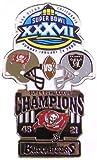 Super Bowl XXXVII Oversized Commemorative Pin