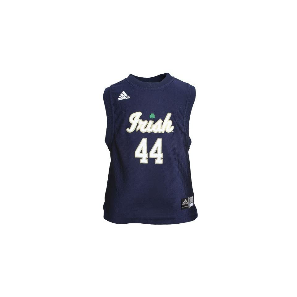 adidas Notre Dame Fighting Irish #44 Navy Blue Infant Replica Basketball Jersey