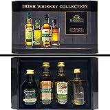 Irish Whisky Geschenkset - Connemara + Kilbeggan + Tyrconnell + Kilbeggan - je 5cl (40% Vol)