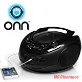 ONN-CDAMFM-Portable-Boombox-with