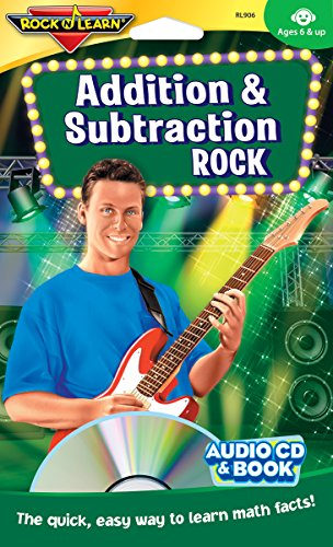 Addition and Subtraction Rock Audio CD and Book by Rock 'N Learn