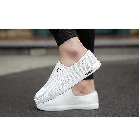 XFentech Alpargatas de Lona Hombre - Moda Ligero Zapatillas Sneaker Transpirable Zapatos de Verano: Amazon.es: Zapatos y complementos