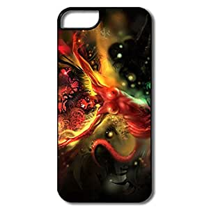Art Girl Abstract Plastic Funny Case For IPhone 6 4.7