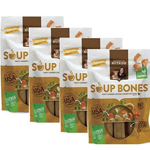 Rachael Ray Nutrish Soup Bones Dog Treats , Real Chicken & V