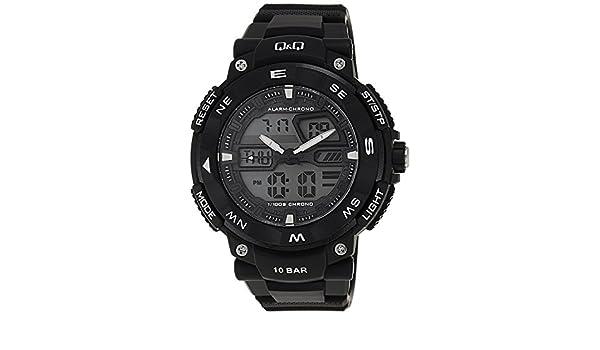 Q&Q - Reloj de Hombre Analógico / digital - GW85J001Y: Amazon.es: Relojes