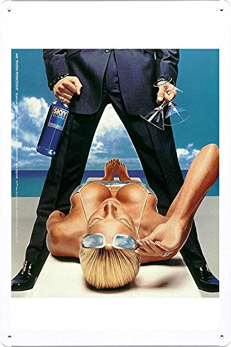 tin-sign-metal-poster-plate-8x12-of-skyy-vodka-riviera-rendezvous-by-food-beverage-decor-sign