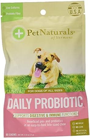 Pet Naturals de Vermont Resumen de diario para perros: Amazon.es: Productos para mascotas