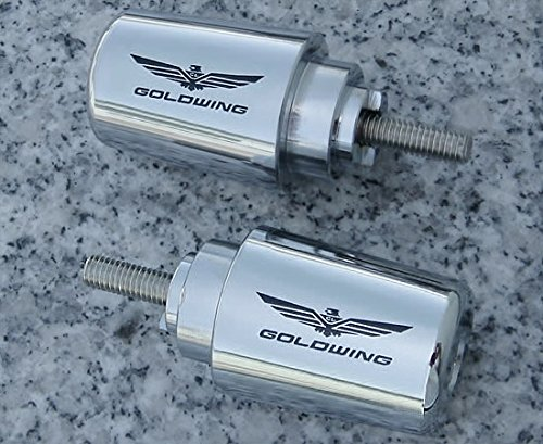 Chrome Bar Ends - i5 Chrome Bar Ends for Honda Goldwing Gold Wing GL1800 GL1800