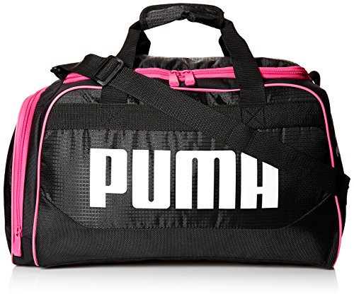 PUMA Women's Evercat Dispatch Duffel, Black/Pink, OS Review