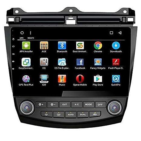TOPNAVI Navegaci/ón en el Coche para Honda Accord 2004 2005 2006 Android 8.1 Est/éreo para autom/óvil con GPS Octa Core 32 GB ROM 2 GB RAM WiFi 3G RDS Enlace especular FM Am Bluetooth Audio Video