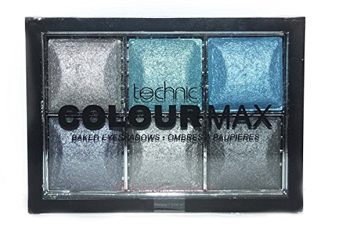 Technic Colour Max 6 Colour Baked Eyeshadows Any Occasion 6x2 g - Rolling In It
